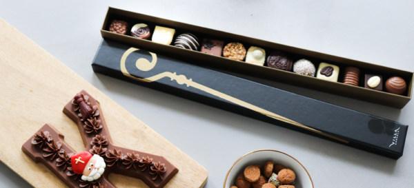 Sint geschenk chocola Villa Chocola