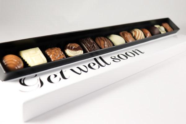 Beterschap geschenk chocola