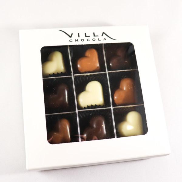 Hartjes box chocola
