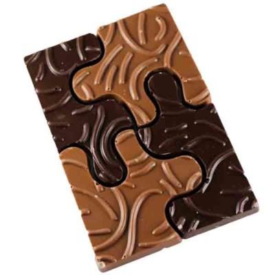 Chocolade puzzel chocolaterie