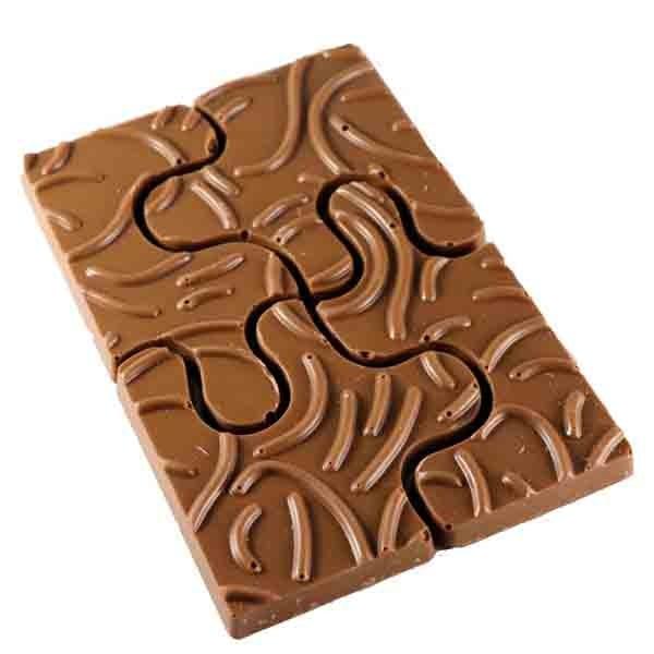 Puzzel chocolade