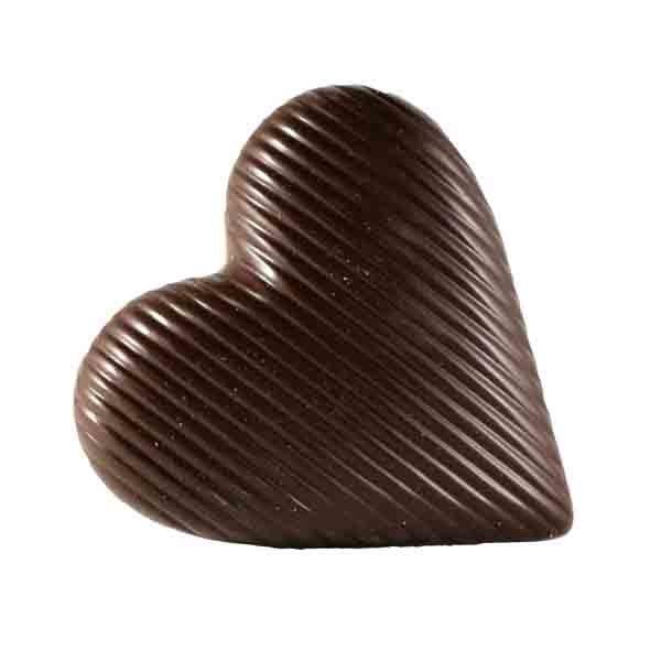 Luxe chocolade in vorm van hart