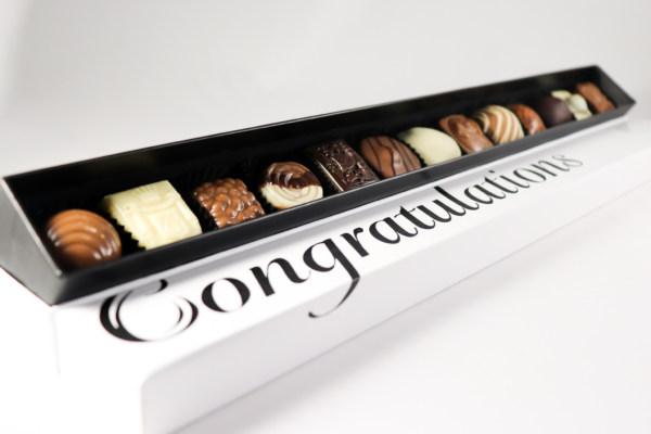 Congratulations felicitatie geschenk