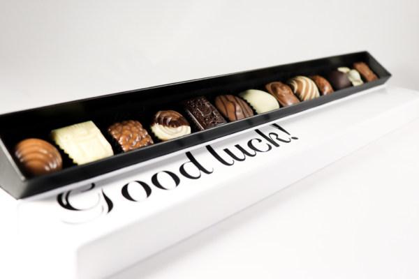 Succes chocolade winkel