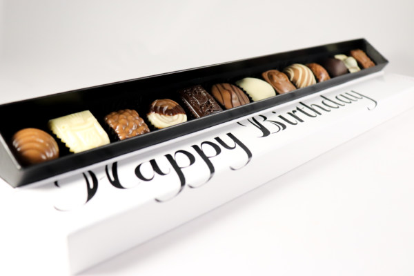 Verjaardag geschenken chocola