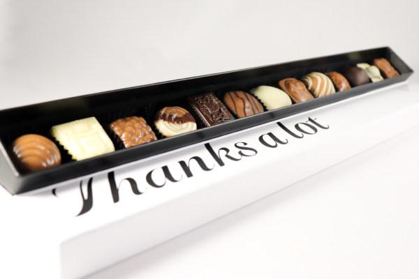 Geschenken Chocola Bedank