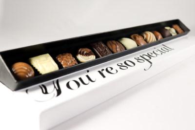Speciaal geschenken chocola