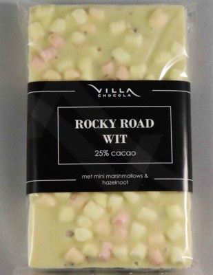Rocky Road witte chocolade marshmallow