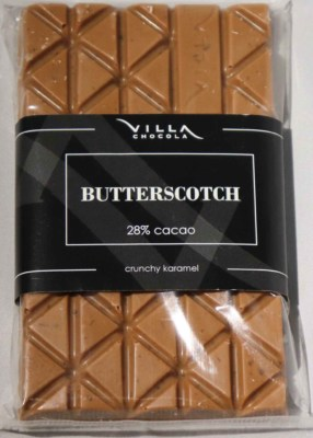 Butterscotch chocolade tablet