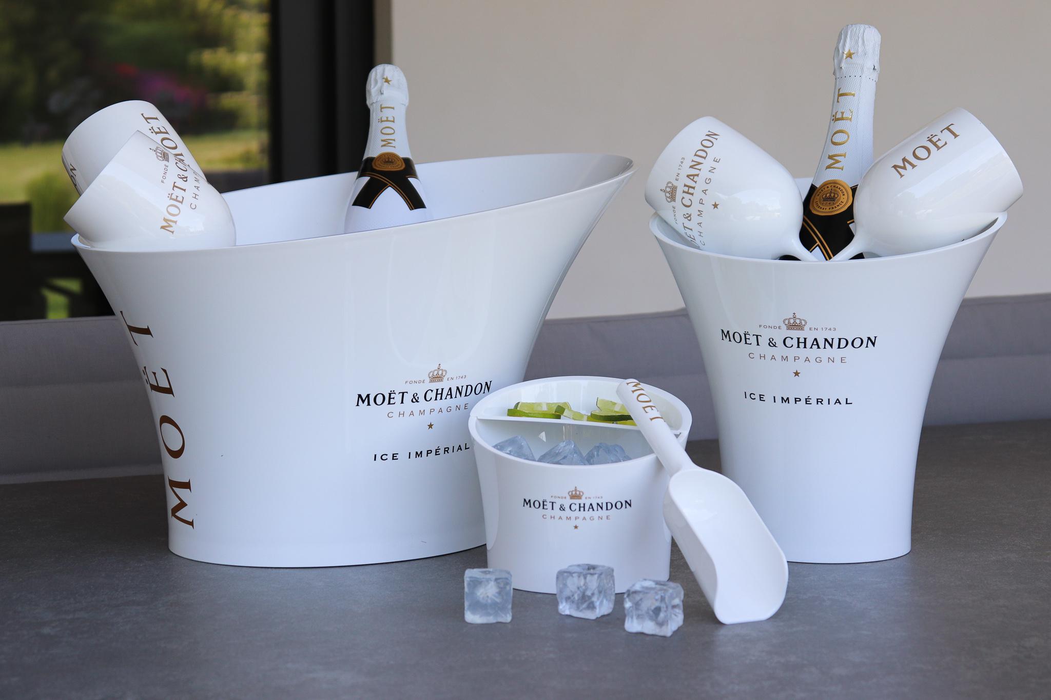 Wijnkoeler wit Moet & Chandon