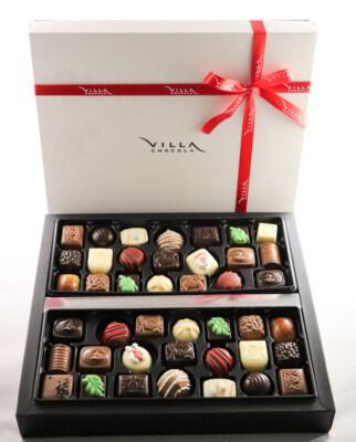 Kerst geschenk Villa Chocola